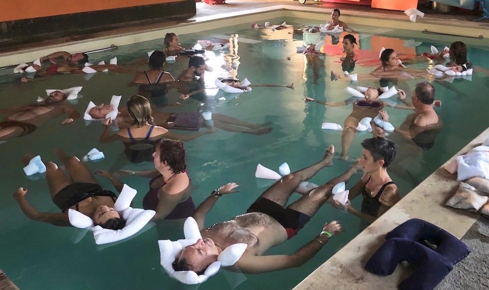 meditazione in acqua
